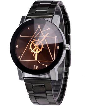 10528dc54821 Compra Reloj Analogo Para Hombre De Pulsera Casual Negro online ...