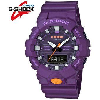 942e31472587 Reloj Casio G-Shock GA800SC-6A Digital Analógico Acuático Luz Automática -  Morado