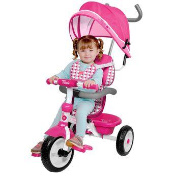 Triciclo 3 en 1 Trixie con toldo y mango BESTOYS
