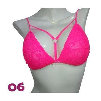 4fb5fac901 Compra Bralette Sexy Lenceria Brasier Intima Encaje Ropa Interior 6 ...