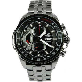 c12d699ba93d Compra Reloj Casio Edifice EF-558D-1AV Analógico Hombre - Plateado Y ...