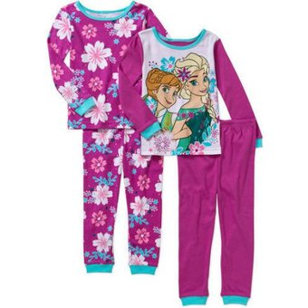 67601d506f Compra Set De Pijamas Para Niña Disney Frozen Elsa Y Anna online ...