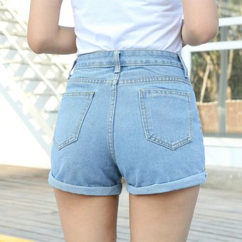 Pantalones Cortos De Mezclilla Para Mujer Sueltos De Primavera Y V Linio Peru Un055fa0lnup7lpe