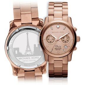 23d8efb6fceb2 Reloj Michael Kors Mk Paris Rose Gold Edicion Limitada Oro Rosa Premium  ENVIO GRATIS