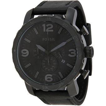 8fd7c5478a2e Compra Reloj Fossil Nate Cronógrafo JR1354 Analógico Hombre - Negro ...