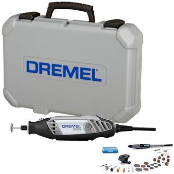 Compra dremel 3000 kit con 2 aditamentos y 30 accesorios for Dremel 3000 accesorios