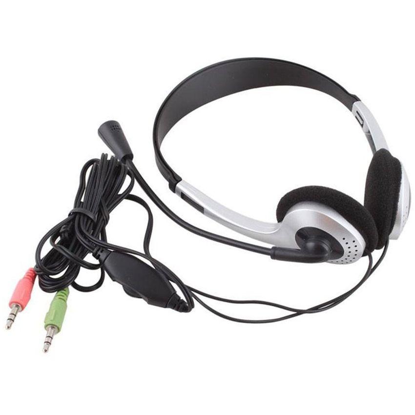 Auricular con micrófono auriculares VOIP Skype para PC Portátil
