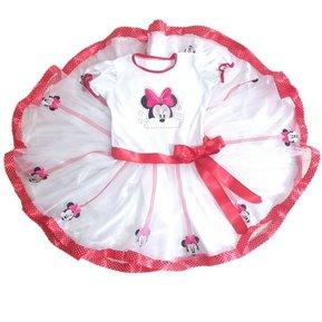 e82a46ce0 Disfraz Minnie Mouse Falda Tutu Amplia Blanco