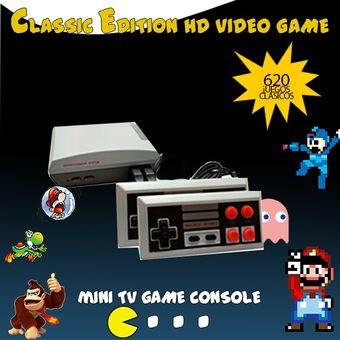 Compra Consola Mini Nes Classic Edition 620 Juegos Online Linio