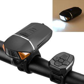 2e4fbf80d Linterna de bicicleta de control remoto de 5W 35LM XPG LED USB