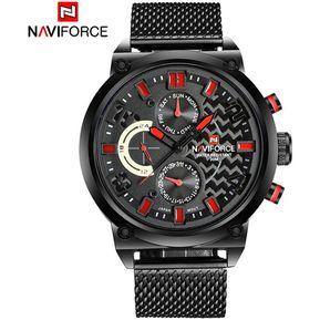 c07966842e2b NF 9068 reloj de cuarzo impermeable casual para hombre rojo