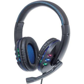 Diadema Manhattan Gaming LED Headset USB 176088