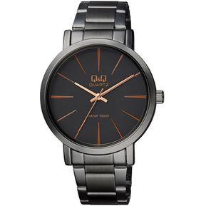 0fa9656a6348 Reloj Hombre Marca Q Q Modelo Q892j412y Pavonado Original - Negro