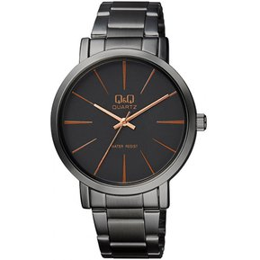 b0c44fffd823 Reloj Hombre Marca Q Q Modelo Q892j412y Pavonado Original - Negro