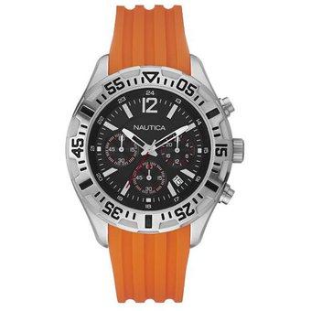 0bf4c79bcd63 Compra Reloj Caballero Nautica A17666G NST 402 Naranja online ...
