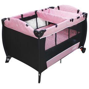 0e9bdb794 Corral Cuna Con Cambiador Infanti Jbp701C-Gama Pink -Rosado