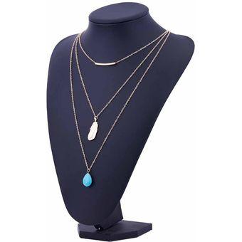 a5fbec6597e8 Compra Collar Harmonie Accesorios Cadena Triple Dijes Dorado online ...