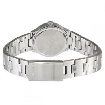 7a2 Acero Pulso Plateado Casio Ltp 1241d Inoxidable Reloj bgyvfY76
