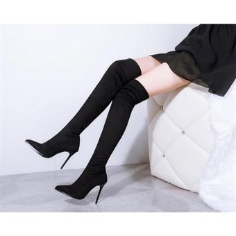 3784e44c3a Compra Botas Largas De Tacon Tailun-cool Mujer-Negro online