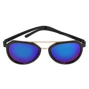 e5849e663a 2017 recorren gafas Gafas de sol todos coinciden con ropa estilo piloto