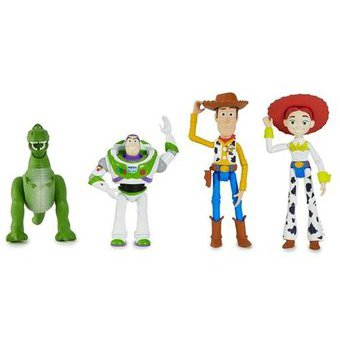 Compra Set De 4 Figuras Básicas Toy Story Mattel FRX10 Multicolor ... 3da9dd72af0