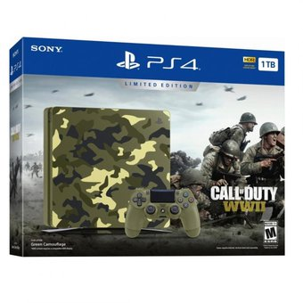 Playstation 4 Slim 1 Tb Call Of Duty WWII (Edición Limitada)