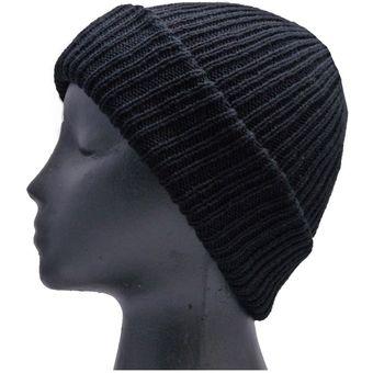 c9c68839145e Gorro lana Para invierno Frio Unisex - Negro