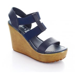 1855d5c9 Sandalia para Mujer Muzza 2128-032506 Color Azul