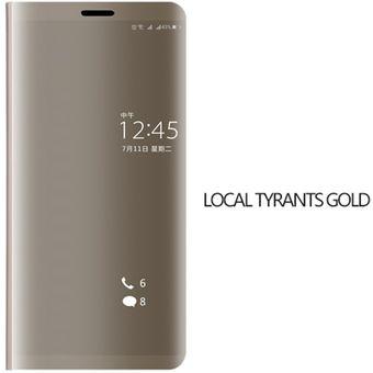 c0b74e6571012 Compra Funda para celular huawei p8 lite Cuero Dorado online