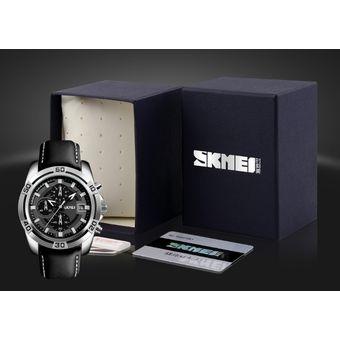 c9abacc5bed Compra Reloj Skmei 9156 Hombre Cronógrafo Funcional + Estuche online ...