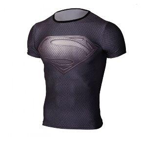Camiseta Hombre Alter Ego Estilo Superman Slim Fit - Color Gris 5bdfebb3bcf56