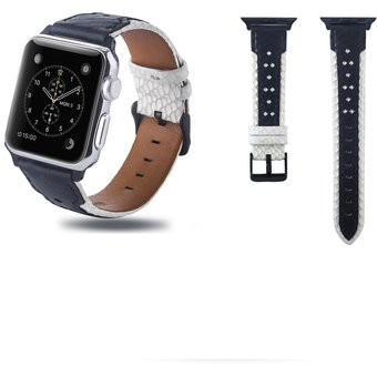 d411f873ba97 Compra Correa de reloj cuero para Apple Watch Series 4 y 3 y 2 y 1 ...