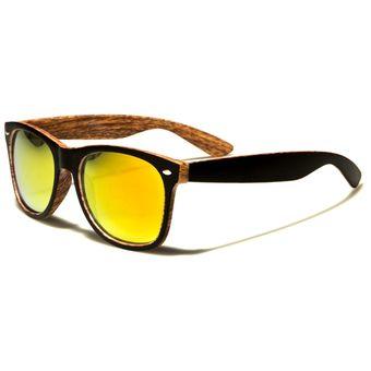 b551a4faae Agotado Gafas Sol Tipo Wood Wayfarer Simulación Madera Filtro UV - Negro/ Madera - W7855RVA