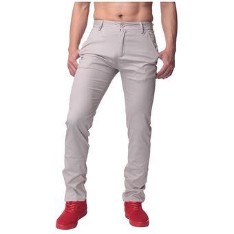 Algodon Hombre Ajustado Pantalones Vaqueros Rectos Pantalones Linio Mexico Ge598fa1k1mhplmx
