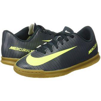 Tenis Fútbol Niño Nike Jr Mercurial X Vortex 3 CR7 IC + Calcetines Largas  Obsequio 2b1788f9c0b78