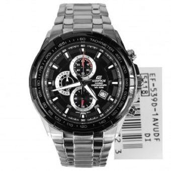 7b5b0d0aec01 Compra Reloj Casio Edifice EF539D-1A Cronografo Acero - Negro online ...