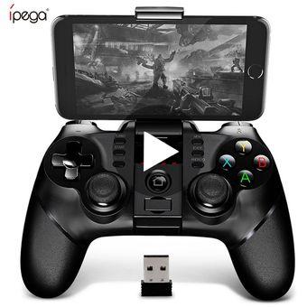 Mando de Juego inal/ámbrico Bluetooth con un Solo Lado para iOS y Android periwinkLuQ Gamepad para tel/éfono m/óvil