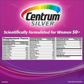 beneficios de las vitaminas centrum para mujer