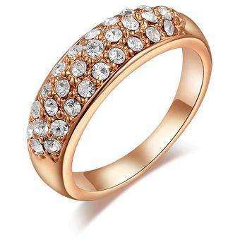 634613e3fe5d Anillo La Tienda 88 enchapado en oro Rosa de 18kl - Oro Rosa