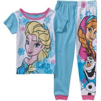 8d836a72f9 Compra Pijama Para Niña Disney Frozen Elsa Y Anna online