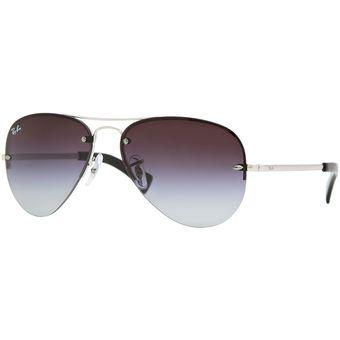 15e1c6669fc Compra Gafas de Sol Ray Ban Sol Plata 0RB3449 - 003 8G - Hombre ...