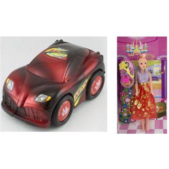 Compra Carro Juguete Y Kit Juguetes 9 5 Regalos Para Ninos Y