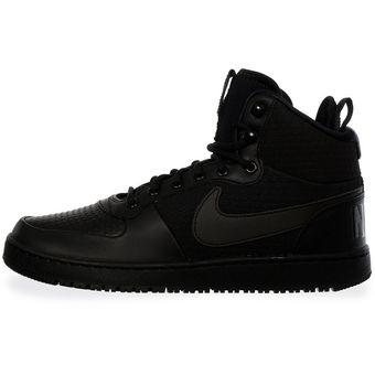 50afa4c8635 Compra Tenis Nike Court Borough Mid - AA0547002 - Negro - Hombre ...