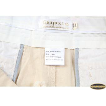 ea8ab914557 Compra Pantalones Casual Algodón Lino Gaupucean Para Hombre-Blanco ...