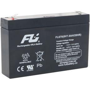 d86bd48598 Bateria Sellada Fulibattery 6v 7ah (7 Amperios) Original