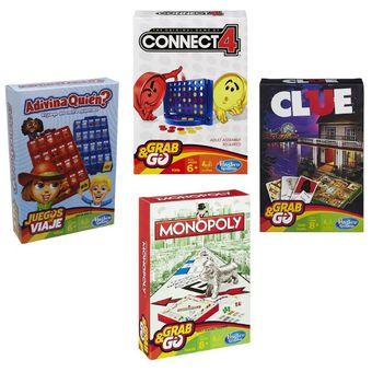 Compra Hasbro Juegos De Viaje Juego De Mesa Connect 4 Online