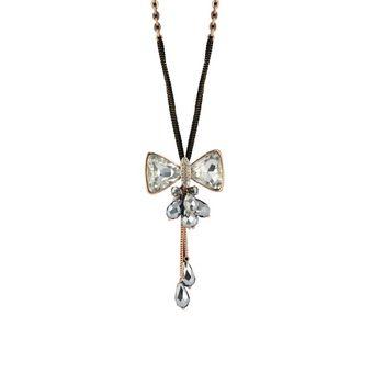 e09dcf23c827 Twinkle Accesorio Colgantes Collar Cadena A La Moda A La Moda De Mujer  Opera Cristalina