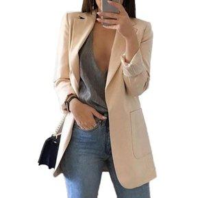 f3befe75f Ropa de mujer abrigo Arriba Sin botones Beige