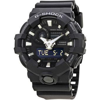 9970042be1da Compra Reloj Casio G-Shock GA-700-1B Analógico Y Digital Hombre ...