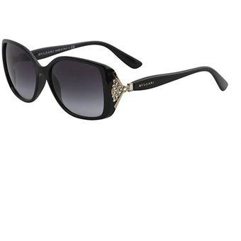 3c04a2a8fb1 Compra Gafas De Sol Bvlgari BV8113B9018G56 Mujer Negro online ...